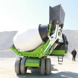 多功能混凝土搅拌车 自上料1-4方混泥土搅拌车
