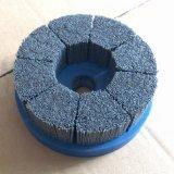 磨料丝胶注端面刷  抛光去毛刺圆盘刷 研磨平底刷