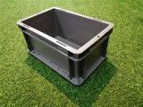 成都【EU物流箱】灰色塑料箱欧式标准箱厂家