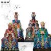 四海龙王塑像五种龙王颜色图片五帝龙王雕塑像