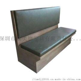 茶餐厅卡座沙发,中西餐厅沙发,火锅店防火板沙发