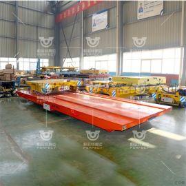 20t钢梁的轨道车,饲料自卸转运车,平板运输机器人