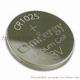 数码产品发光玩具纽扣电池3V锂锰CR1025电池蓝牙电子产品