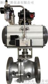 ZSHJ-16K气动夹套保温球阀