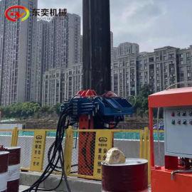 拔型钢机液压拔桩机 拔工法桩机设备