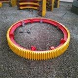1.5x12米烘干机滚圈整体热处理的烘干机滚圈
