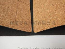 软木TPE 工厂自销瑜伽垫 专业**线瑜伽垫
