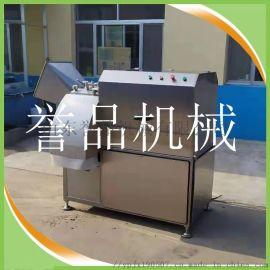 牛腩猪肉牛肉肥肉鲜肉切粒机-三维冻肉切丁设备