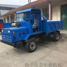 专业柴油四驱四不像运输车/轮式四轮四驱拖拉机