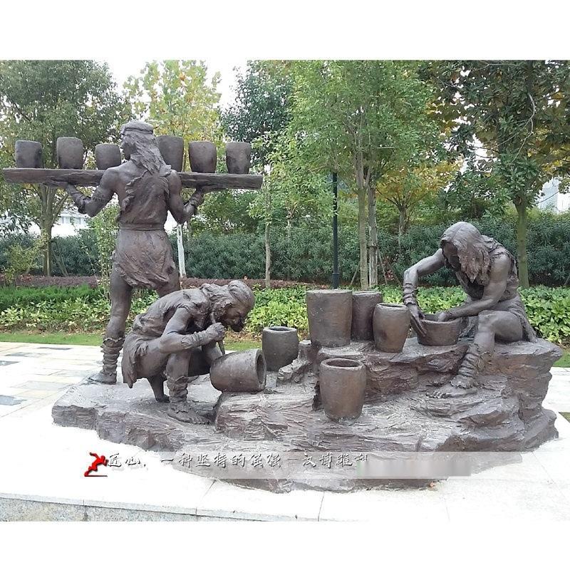 历史人物雕塑,人物铸铜雕像,园林景观雕像