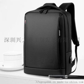 深圳箱包厂家定做各种规格春の派牌双肩电脑包_公文包