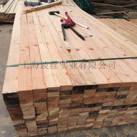 供应花旗松碳化木 景观木栈板 花旗松烘干板材 实木板材