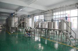 (玻璃瓶)格瓦斯发酵生产线 全自动饮料生产设备 小型格瓦斯发酵罐