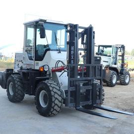 内燃式3.5吨越野叉车 铰接转向越野型叉车