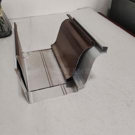 铝合金天沟雨水槽生产厂家 成品天沟排水系统