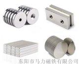釹鐵硼打孔磁鐵生產廠家 / 定做沉孔磁鐵