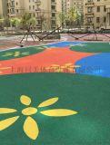 室外儿童安全地垫,儿童乐园安全地垫材料规格