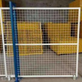 广州仓库隔断围栏 车间浸塑框架隔离网