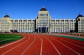 杭州丙烯酸球场150米塑胶跑道施工工程