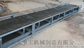 万向轮防滑皮带输送机Lj8 两相电爬坡输送机