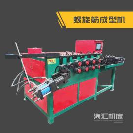 液压螺旋筋成型机,数控钢筋螺旋机介绍