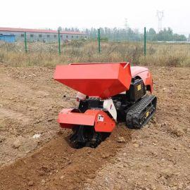 多功能履带式旋耕机 乘坐式果园旋耕除草机