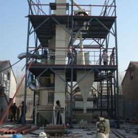 混合饲料颗粒生产设备加工机组 豆粕秸秆饲料颗粒机