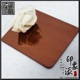 镜面咖啡金不锈钢板现货供应图片
