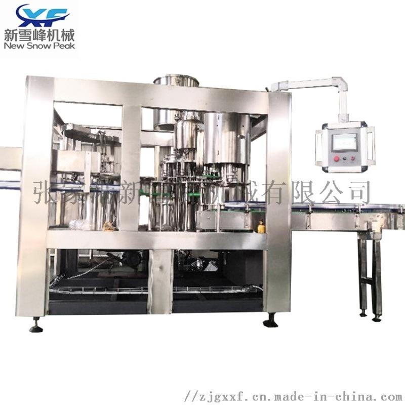 全自动液体灌装机 瓶装水三合一灌装生产线