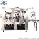 全自動液體灌裝機 瓶裝水三合一灌裝生產線