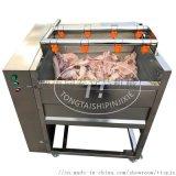 毛刷辊猪脚清洗机 自动洗猪头猪蹄猪耳机器
