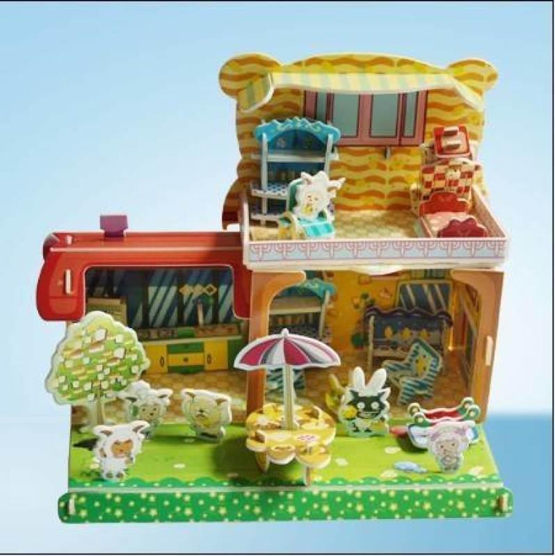 10元模式地摊赶集热卖3D拼图儿童益智玩具怎么样