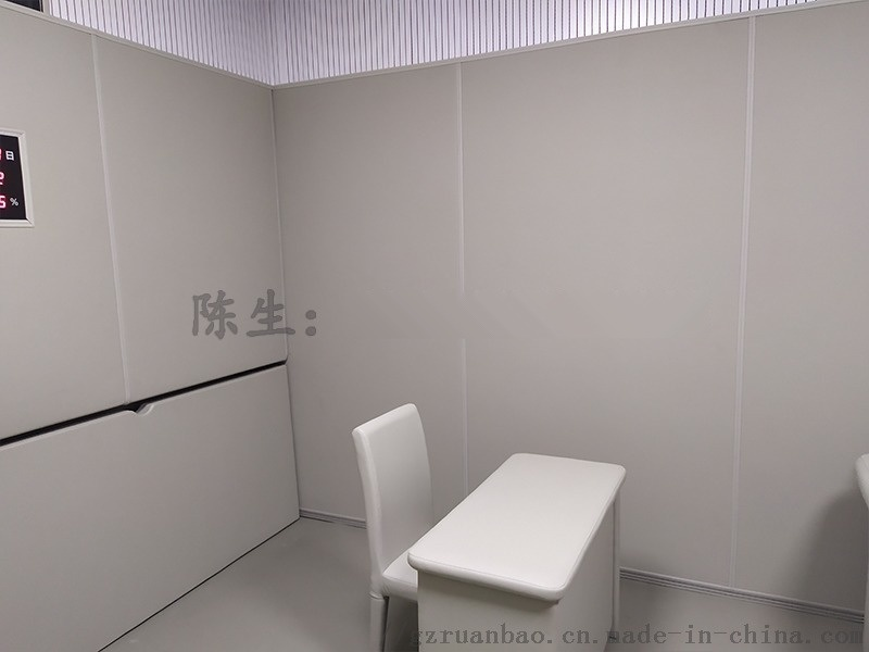 留置室軟包牆面安  理方式