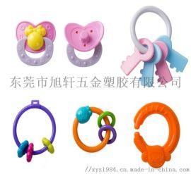 婴儿牙胶毛绒玩具塑胶配件挂件厂家
