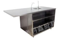 成都厨具厂净化设备嵌入工作台