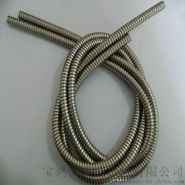 沈阳供应双扣不锈钢铠装波纹管   20内径规格