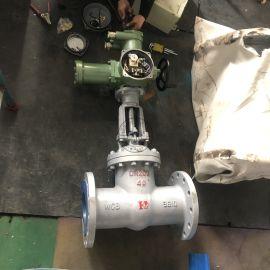 MAZ941H-40带煤安证防爆证电动闸阀