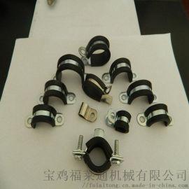 株洲销售R型不锈钢管夹 DN25规格厂家直发
