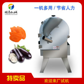 土豆切丁机 商用电动土豆切丝机 多功能切菜机