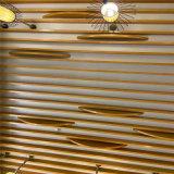 木纹弧形铝方通 烤漆弧形方通 仿木纹弧形铝方通
