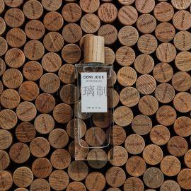 香水瓶木盖香水瓶方香水瓶面霜瓶补水瓶精油瓶