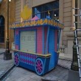 售賣亭 戶外木製時尚耐用多彩廠家直銷售賣亭