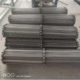 304不锈钢链条式网带 耐高温食品烘干机传送网带退火炉网链可定做