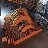 墙身涡旋式造型铝方通 不规则凹凸铝方通造型