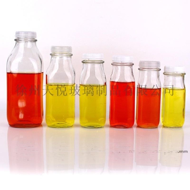 高白200-500ml玻璃奶瓶 江苏玻璃奶瓶