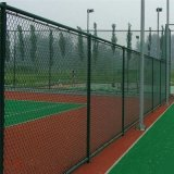 現貨籃球場圍欄隔離足球場圍網護欄網學校體育場浸塑勾花護欄網