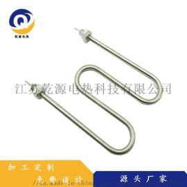专业定制供应液体加热专用电加热管 多U形电加热管