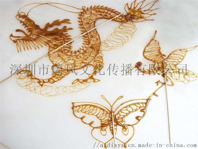 非遺民俗傳統藝術 捏泥人 糖畫 草編 中國結 剪紙 吹糖人 寫琿春