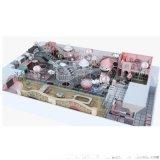 室內樂園淘氣堡廠家溫州中青 適用於兒童室內樂園