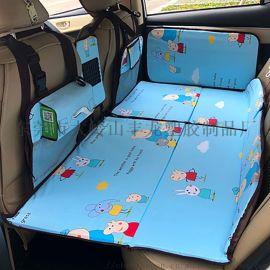 可折叠非充气车载床垫